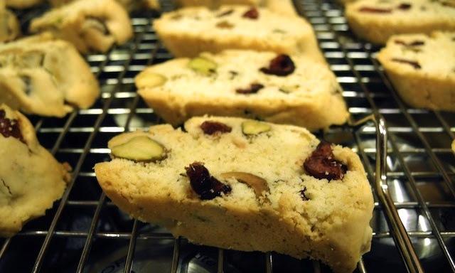 Pistachio Cranberry Biscotti | La Cucina Grandinetti