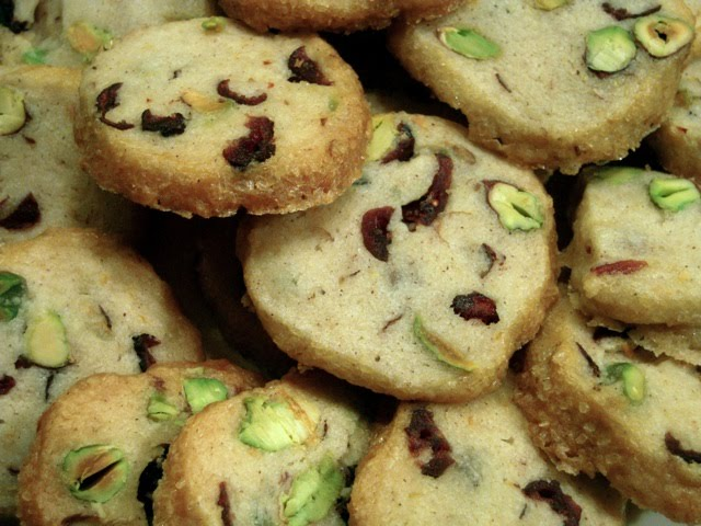 Pistachio Cranberry Icebox Cookies Recipes — Dishmaps