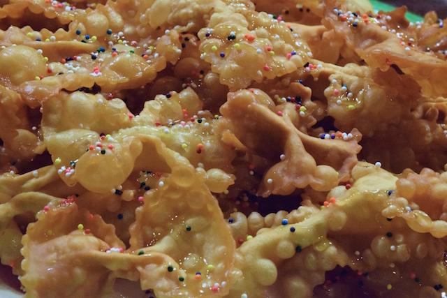 Crostoli Italian Bow Tie Cookies La Cucina Grandinetti